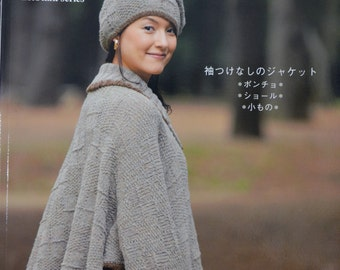 Let's Knit Series Crochet and Knit Lady Elegant Winter Wear Japanese Craft Book