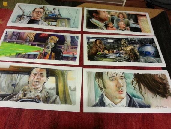 "Any 3 Jim Ferguson Large Movie Print 12""x24"""