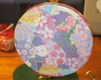 Pastel Origami Paper Decoupage Paper Mache Ornament