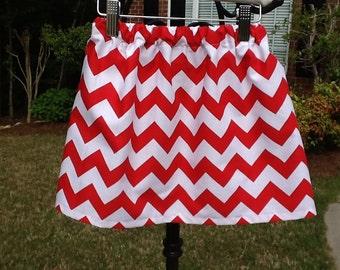 Baby, toddler, and girls chevron twirl skirt sz 12m, 18m, 24m/ 2, 3,4,5,6,7,8