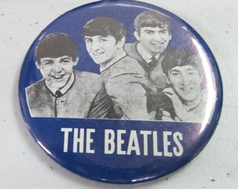 Vintage Collectible button : the beatles