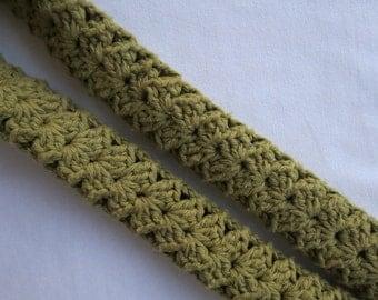 Crochet-Camera Strap Slip Cover-Photographer's Accessory-Cotton Yarn