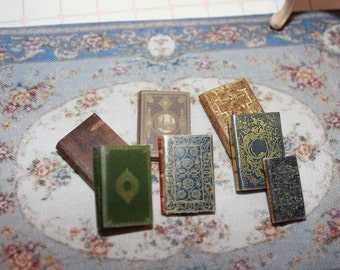 Dollhouse Miniature set of classic books ... set n. 19