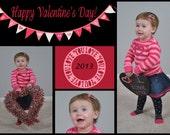 Custom Photo Collage Valentine - 3 Designs