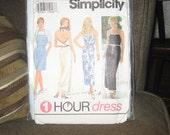 Simplicity 1 hour dress
