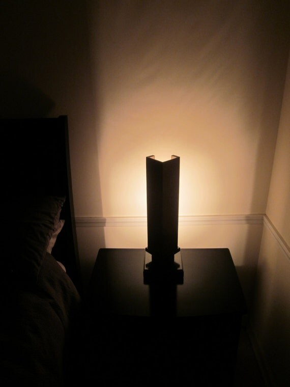 Falling Water inspired accent/bed side lamp