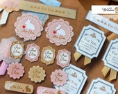 Sealing stickers - Adorable Gift Bag Sealing decorative Stickers