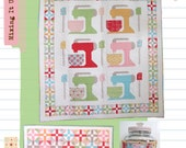 Mixing It Up Quilt, Beater Block Runner and Cookie Jar Cozy