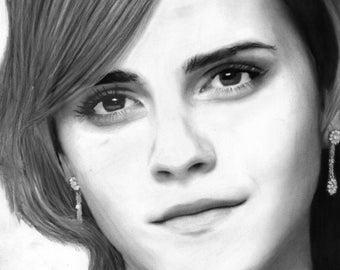 Emma Watson Portrait Limited Edition Print