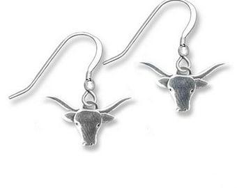 SS Longhorn Earrings