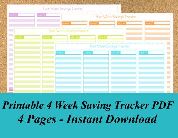 saving tracker