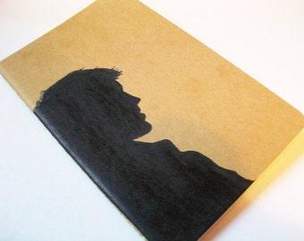 Supernatural Blank Moleskine Notebook- Castiel