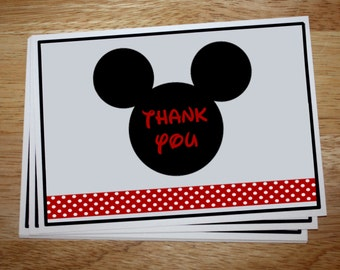 Mickey Mouse Thank You's