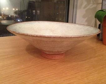 SALE - Vintage Nancy Zager Ceramic Tapered Bowl