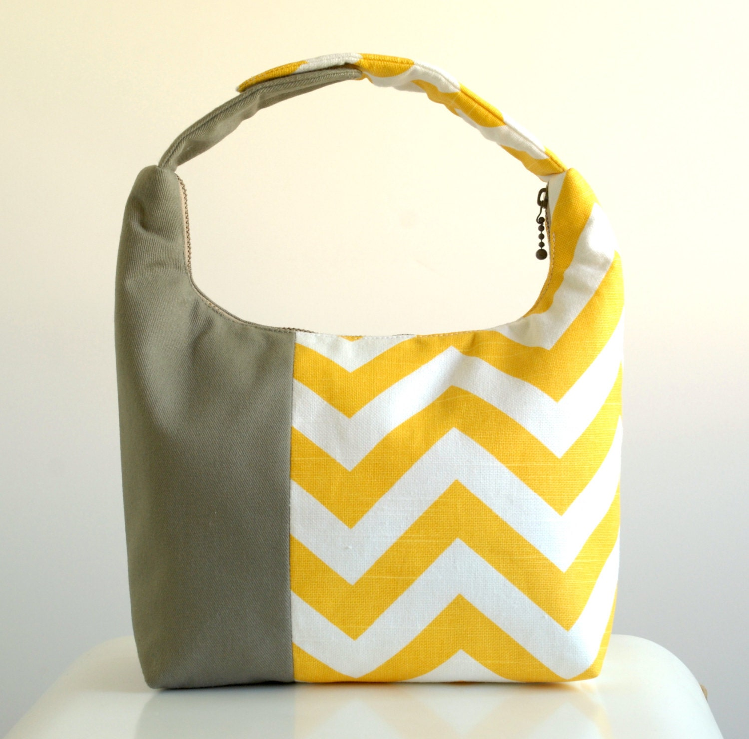 Women Lunch Bag Insulated Lunch Bag Chevron Small Purse