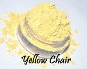 YELLOW CHAIR vegan loose eye shadow FULL size in 5 gram jar