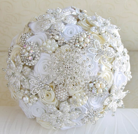 DIY brooch bouquet brides – could this actually work?