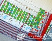 Dr Seuss Crib Bedding - Custom Crib Bedding Set - 5 pc set w/ FREE gift