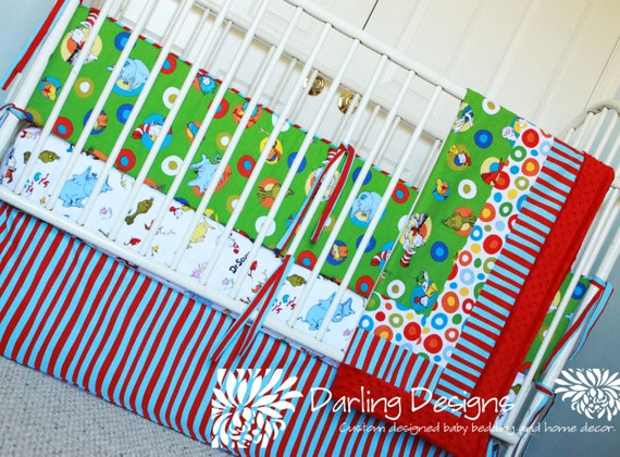 Dr. Seuss 5pc Set by DarlingDesignsLB