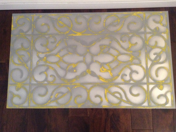 Hand Painted Kitchen Floor Mats