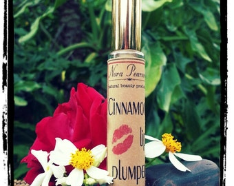 All Natural Cinnamon Lip Plumper with Hyaluronic Acid