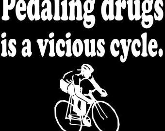 Lance Armstrong Joke Shirt S-2XL