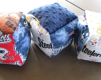 NFL soft Baby Blocks:  A divided house solution