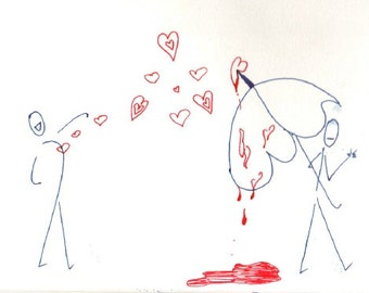 Unrequited Love (Drawing)