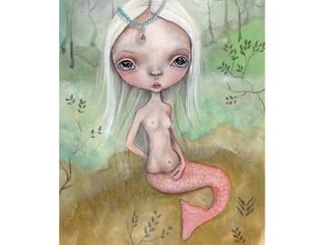 "original painting...little mermaid from ""sensations"""