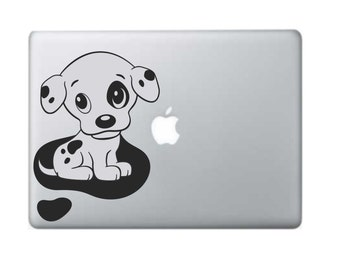 "Macbook Decals Dalmatian Baby Dalmatian Macbook Sticker 11"" 13""Laptop Decal Laptop Stickers Stickers Macbook"