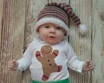 Gingerbread Man on a t shirt or onesie.