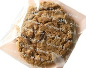 Self adhesive cookie bags-20 bags-Great for cookie wrapping.