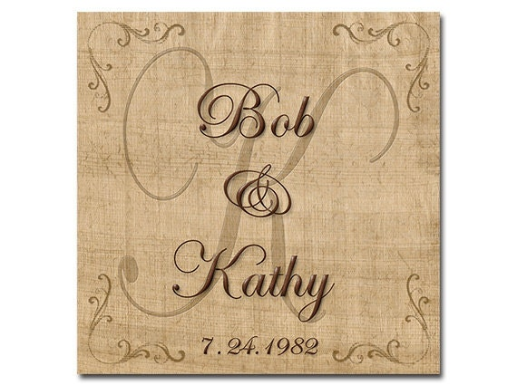 Personalized Coasters Wedding Gift: Personalized Wedding Gift Coasters Wedding Couple First By