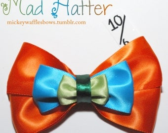Mad Hatter Hair Bow
