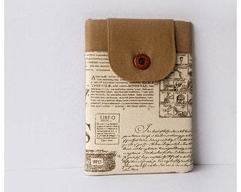 SALE 50% OFF - iPad Mini Case, iPad Mini Sleeve, iPad Mini Cover, Padded with Front Pocket