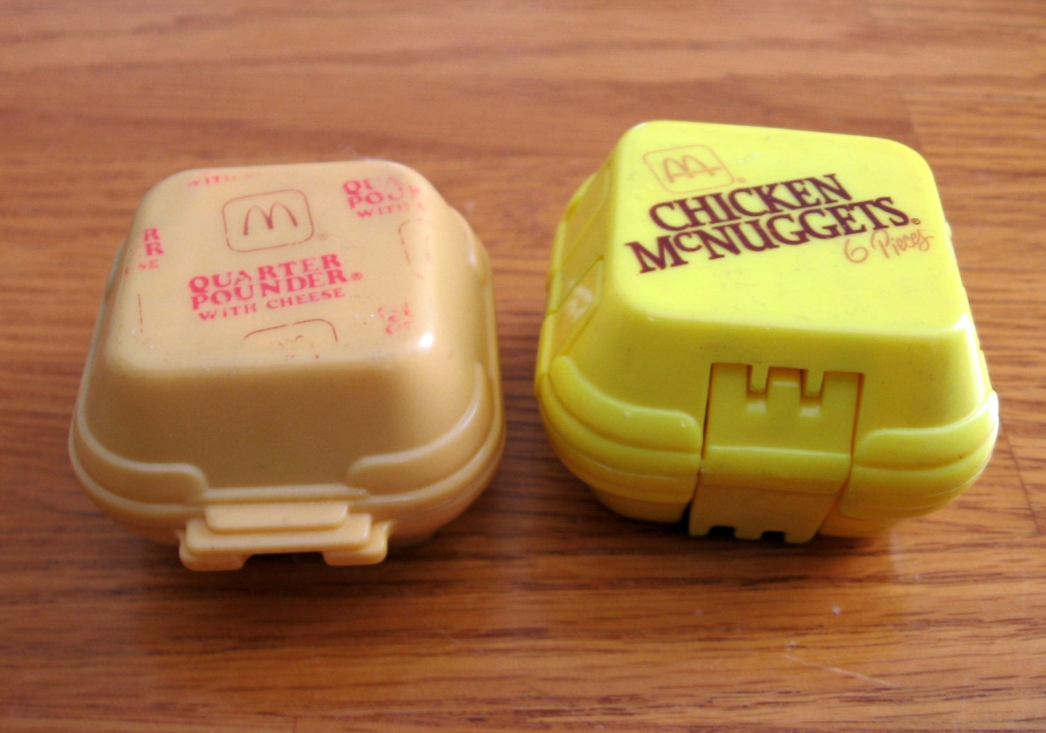 Toys From The 1980s : Lot of s mcdonalds transformer toys