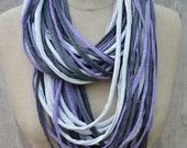 Necklace made of textile, scarf, accessoire, summerscarf, necklace, textile, light weight, summer,