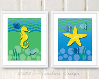 Popular items for kids wall art bath on Etsy
