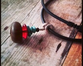 Earth Elements - Men's Necklace -- For the Outdoorsman-Surfer-Rock Climber -- Gifts for Him