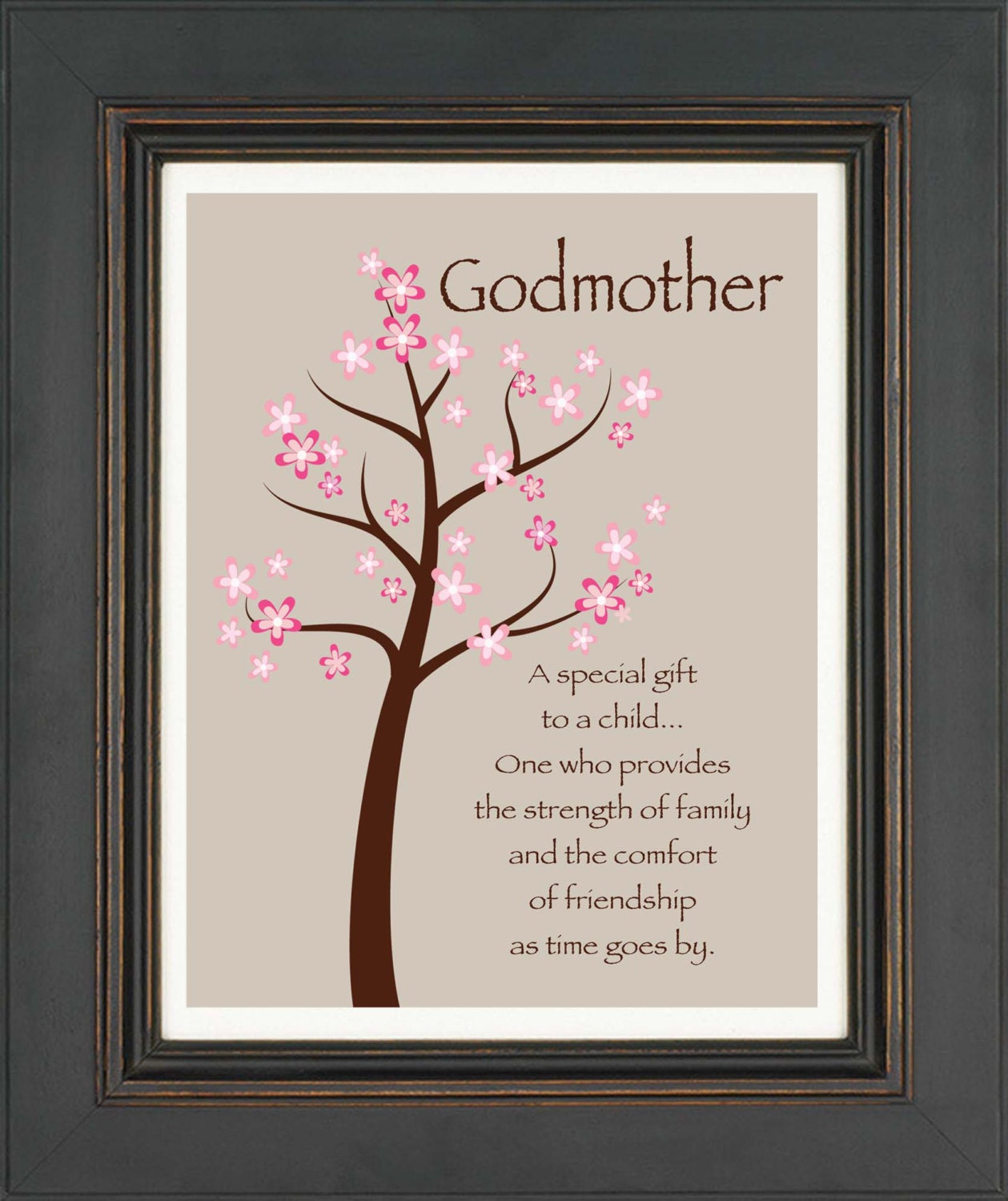 Wedding Gifts For Godparents : Godmother Gifts From Godchild