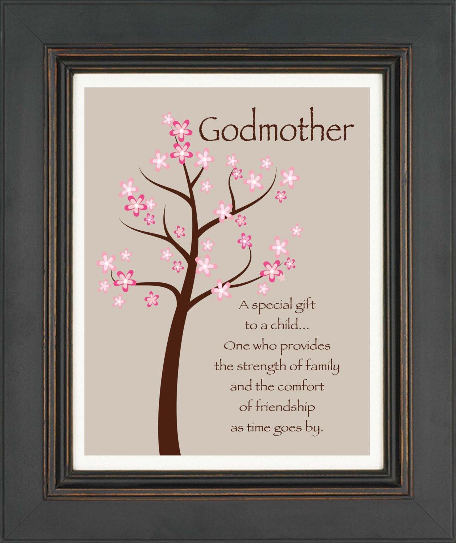 Godmother Gifts From Godchild