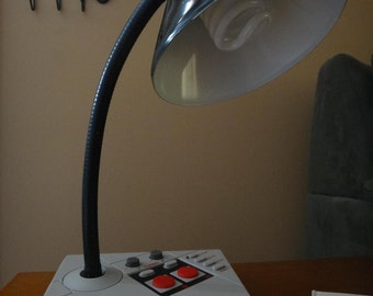 Authentic NES Advantage Arcade Controller Desk Lamp
