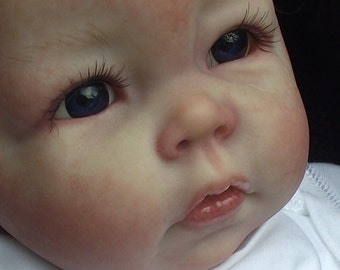 custom made reborn baby doll  from luca sculpt elly knoops by lillb'ees reborn babies