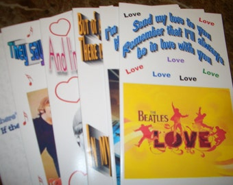 7 Beatles All Occasion Greeting Cards