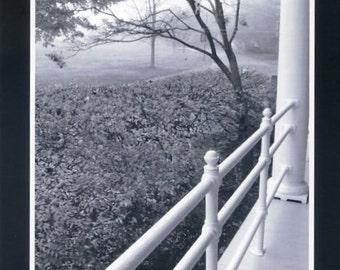 Diamond Cove black and white - Photo card