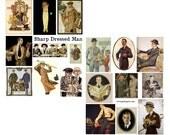 Sharp Dressed Man Digital Collage Set