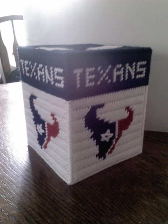 Houston Texans Tissue box cover