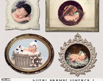 Digital  Frames Vintage  vol.4