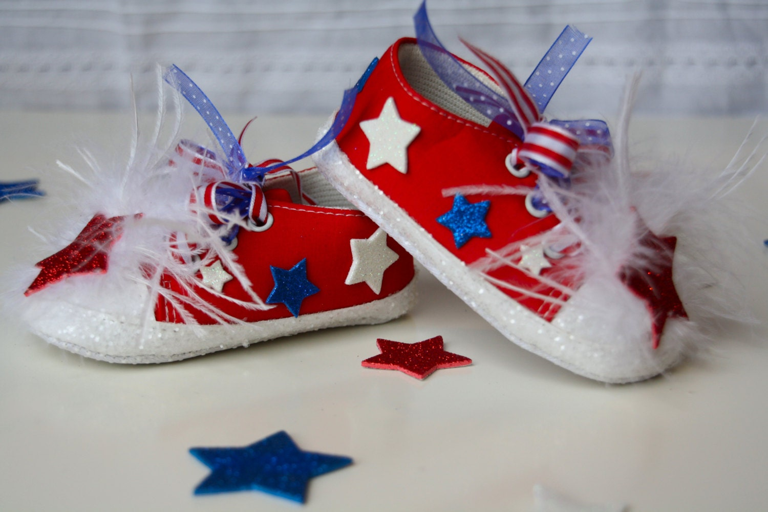 pageant shoes bling shoes 4th of july memorial day tennis