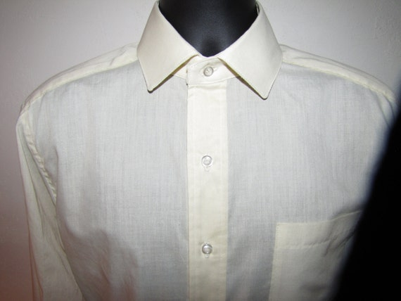 French cuff men 39 s dress shirt slim fit size 15 5 for French cuff slim fit dress shirt